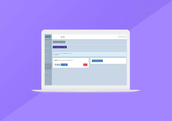 form yönetim sistemi ekran görüntüsü